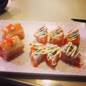 Sushi in china