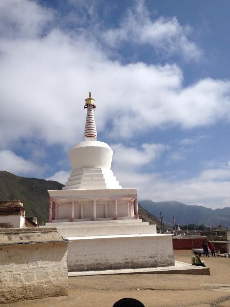 Tibetan Stupa in Xiahe